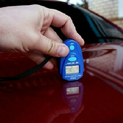 Durable Digital Lcd Car Paint Thickness Gauge Probe Tester Meter Measuring Tool