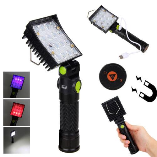 COB-LED Werkstattleuchte Handlampe WerkstattLampe Stablampe Hand Leuchte Magnet