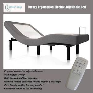 Premium Ergo-motion Electric Adjustable Bed Base Single (Half K) Taren Point Sutherland Area Preview