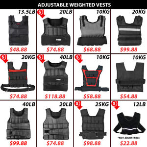 Training Nylon Weight Vests Tko Heavy Weighted Vest Bodyweight