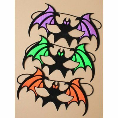 HALLOWEEN BAT MASK IN PRETTY COLOURS,FANCY DRESS - Colouring In Halloween