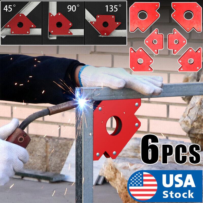 6 PCS Strength Strong WELDING MAGNET ARROW TYPE 25LB, 50LB, 75LB Arrow Holder Business & Industrial