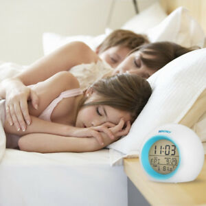 Brand New Alarm Clock Wake Up Light Digital