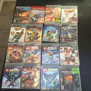 PS3 console with 31 games