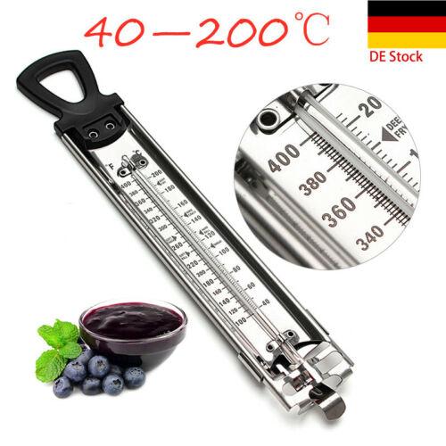 Zuckerthermometer Einkochthermometer Drahtkorb 40°C bis 200 °C Analog Einkoch