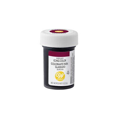 Wilton Icing Color Comestible Concentrado Gel Colorante Alimentario- Borgoña