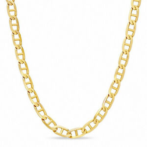 3.0mm Marine Chain Necklace in 10K Gold - 22""