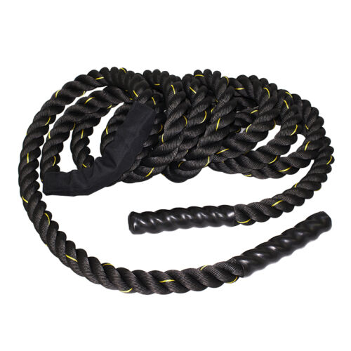 Pro 40 FT x 1.5″ Crossfit Exercise Workout Battle Rope  Strength Train Fitness, Running & Yoga