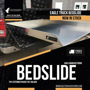 Aluminum Bed Slide 2500lbs - Ford Dodge GM Trucks *FREE SHIPPING