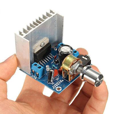 AC/DC 12V TDA7297 2x15W Digital Audio Amplifier DIY Kit Dual-Channel Module Hot