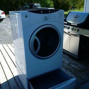 GE Front Loading Washer & Dryer with Pedestals Belleville Belleville Area image 2