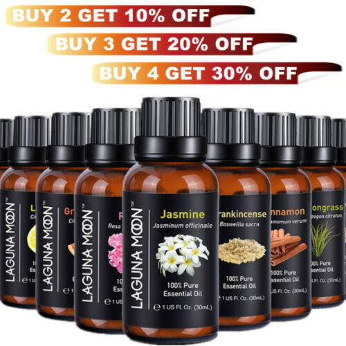 Essential Oils 30 mL  - 100% Pure & All Natural Aromatherapy