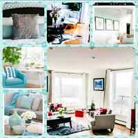 Decluttering, Homestaging, Re-styling, Interior Decorating,