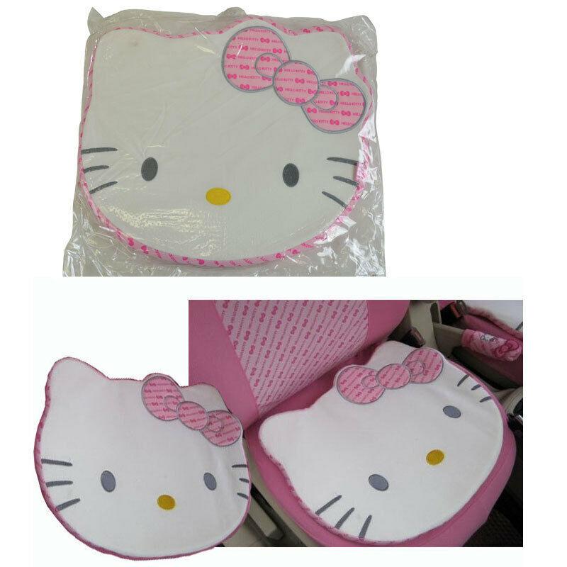 New Sanrio Hello Kitty Pink Big Face Car Truck Seat Cushion Office Chair