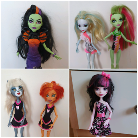 Monster high doll £5 each or 3 dolls for £10 Not complete From a pet