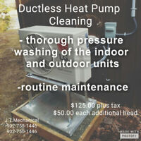 Ductless & Ducted Heat Pump Cleaning