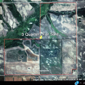 Three Quarter Section Pasture For Sale