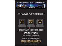 Mobile Phone-PC-Laptop-Tablet-Electronics Repair Services
