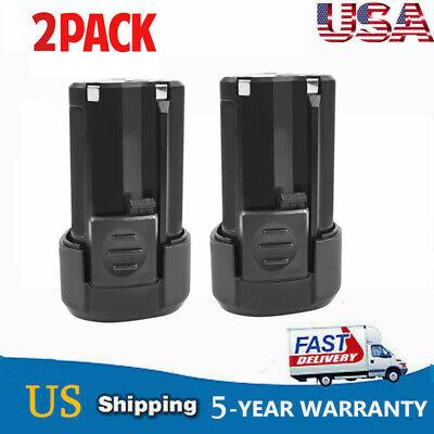 2 Pack 12V RW9300 Rockwell RW9400 2000mAh Lithium Crodless Power Tool Battery TP 2 Pack 2000mah Battery