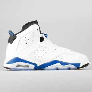 BRAND NEW AIR JORDAN 6 SPORT BLUE