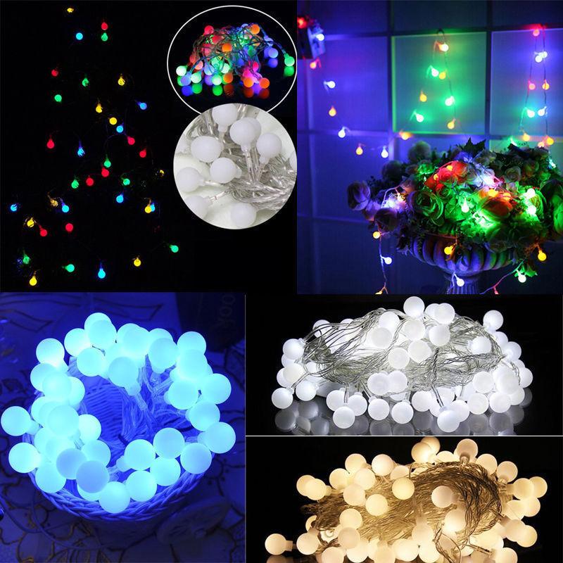 1.5M Christmas Light String Simulation Granular light bulb shape Fairy Lights vi