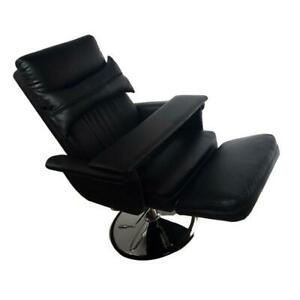 Black Premium Quality Hydraulic pressure facial salon chair#300102