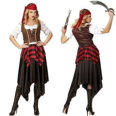Dame Pirat Kostüme (Piratin Kostüm Piratenbraut Piratenkostüm Damen Kostüm Piratinnenkostüm)