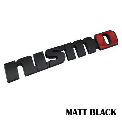 Genuine Nismo Sticker White 10 X 83 999G1-SR001WT