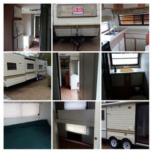 1989 31ft Bonair RV Trailer