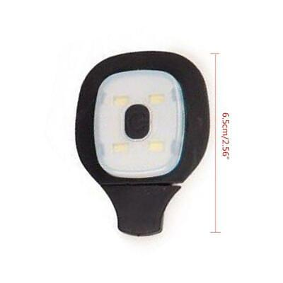 USB  4LED Outdoor Sport Beanie Hat Light Lamp Rechargeable Winter Wear Cap Parts