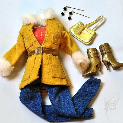 Barbie doll Fashion clothes and handmade jewelry set shoes for barbie dolls on Rummage