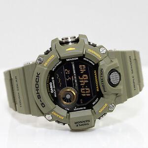 Casio GW-9400-3ER PREMIUM RANGEMAN G-Shock Solar + Funk Uhr Herrenuhr