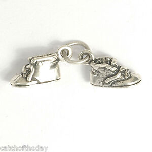 Silver Baby Shoes