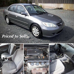 2004 Honda Civic 4Door Sedan