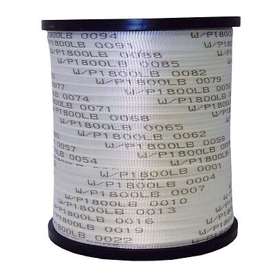 Seconds Usa Made 58 X 3000 1800 Lb Polyester Pull Tape Mule Tape