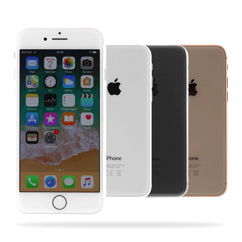 Apple iPhone 8 / 64GB 256GB / Spacegrau Silber Gold / eBay Garantie / Händler DE