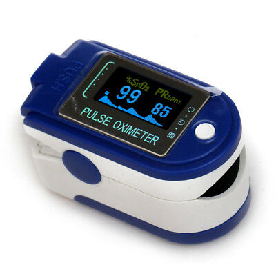 Finger Pulse Oximeterblood Oxygenspo2 Monitor 24hour Recorder Usb Software Usa