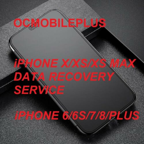 Data Recovery Service for iPhone XR/X/XS/XS Max
