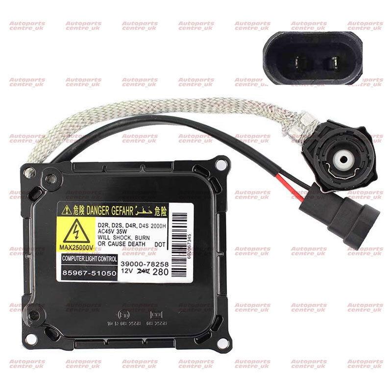85967-52020 Fits Toyota Lexus Xenon HID Headlight Control Unit Ballast D4S/D4R