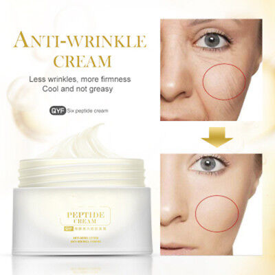 Six Peptide Cream Wrinkles Removal Anti-Aging/Lifting Firming Whitening Cream