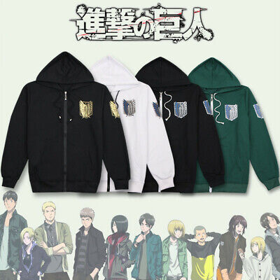 e Pullover Hoodie Hooded Sweatshirt Cosplay Sports Outerwear (Attack On Titan Hoodie)