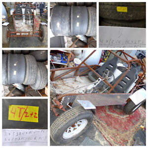 LARGE TIRES FROM 26.5 TO 26.5'' WE DELIVER