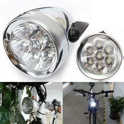 Vintage Retro Bicycle Bike Front Light Lamp 7 LED Fixie Bike