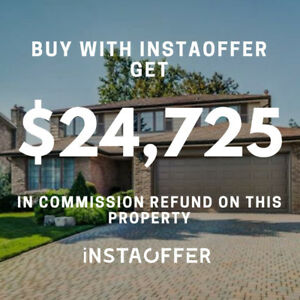 4 Bedroom Detached, Mississauga, $1,189,000 Buy with Instaoffer