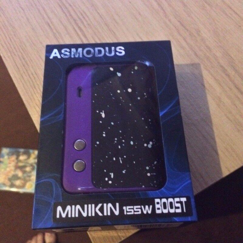 asMODus Minikin Boost + two 30q 18650 Batterys