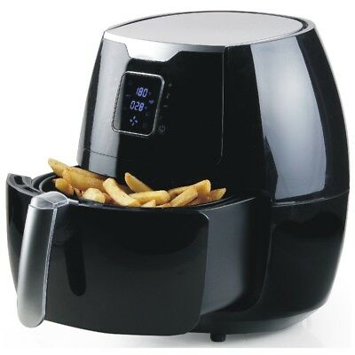 Digitale Heißluft-Fritteuse Air Fryer XXL DO513FR schwarz 5,5 Liter 1800Watt