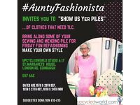#AuntyFashionista invites you to 'Show us Yer Piles!' - Friday 16th Sept, 7-9.30