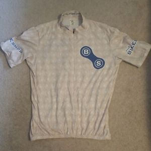 Cycling jerseys for sale.