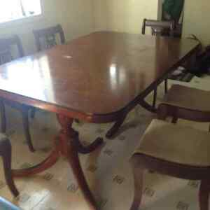 anique dinning table