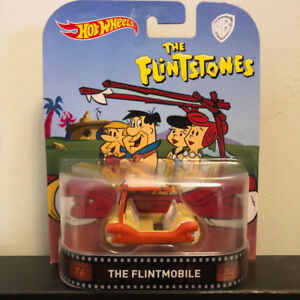 HOT WHEELS RETRO ENTERTAINMENT: FLINTMOBILE (FLINTSTONES) 1:64
